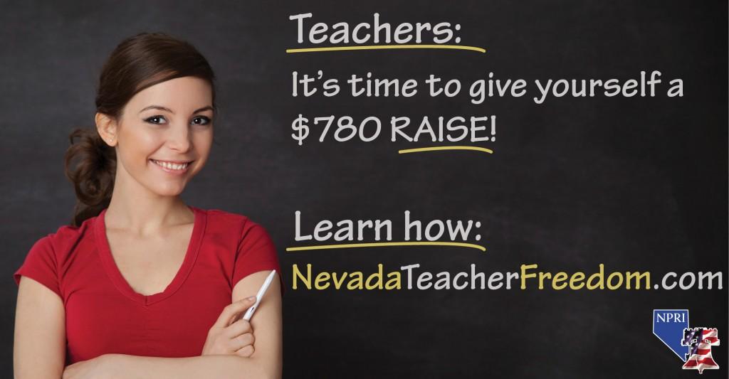 Chance of Nevada teachers to get a raise