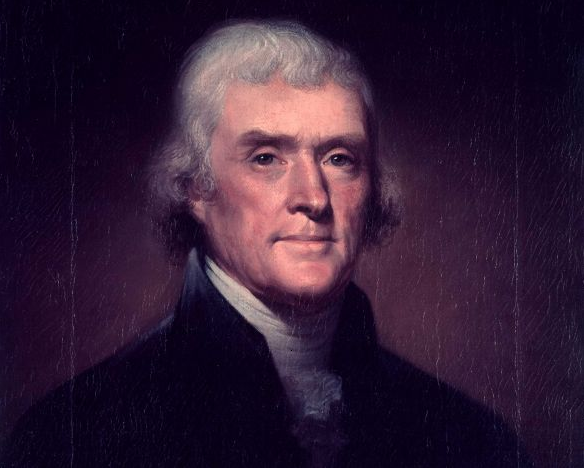 Portrait of Thomas Jefferson - CIRCA 1901 (artist unidentified). (Photo by LIFE Picture Collection / Getty Images)