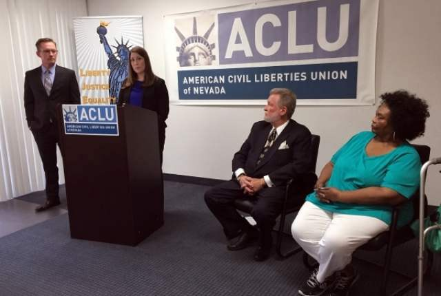 ACLU announces lawsuit against education savings account law.