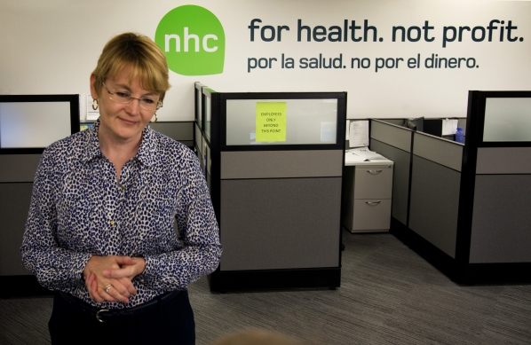 Nevada Health Co-op office. (Photo by Jeff Scheid, Las Vegas Review-Journal)