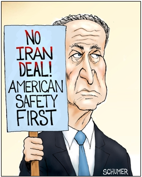 Schumer deserves no credit for opposing Iran deal