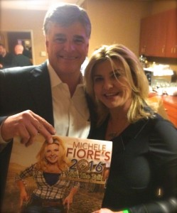Photo of the 2016 Walk the Talk Calendar with Sean Hannity.