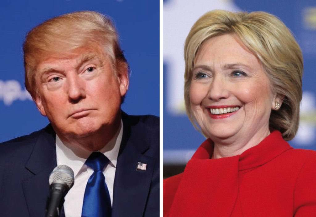 Donald Trump and Hillary Clinton (Courtesy: Wikimedia Commons)