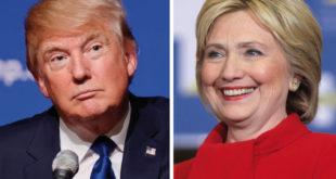 Donald Trump and Hillary Clinton (Courtesy: Wikimedia Commons)
