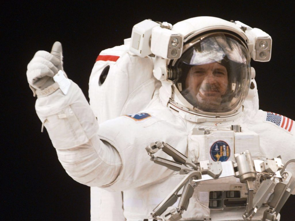 new astronaut in space - photo #8