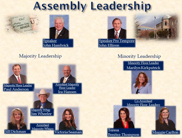 Assembly Leadership