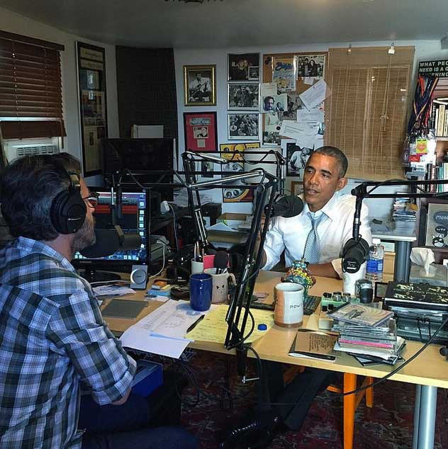 Obama in a radio interview.