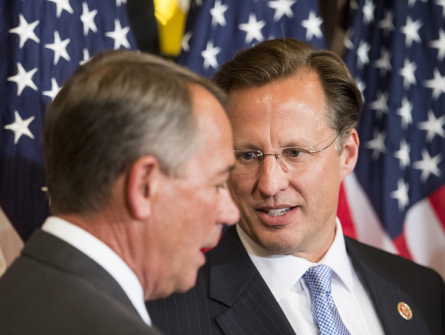 Brat is one of three Republicans whose district is most likely to change. (Photo by Bill Clark, CQ Roll Call)