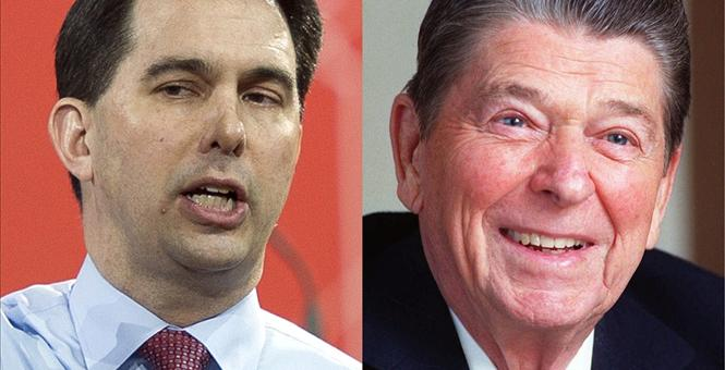 Reagan, Walker and the Arc of History