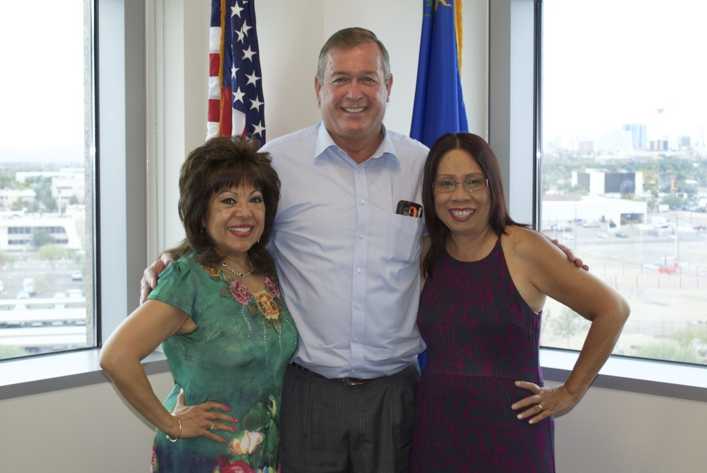 I had a great discussion with Salve Vargas Edelman and Pam Phan with the Rising Asian Pacific Americans Coalition for Diversity about the social, cultural, economic, and civic issues facing Asian Pacific Americans in Nevada.