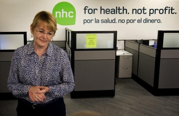 Nevada Health Co-op office. (Photo by Jeff Scheid, Las Vegas Review-Journal)