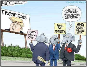 Why the establishment fears Trump