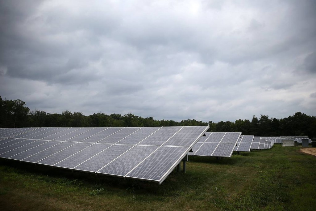Solar panels at Southern Maryland Electric Cooperative Solar in Hughsville, Maryland. (Source: Getty Images)