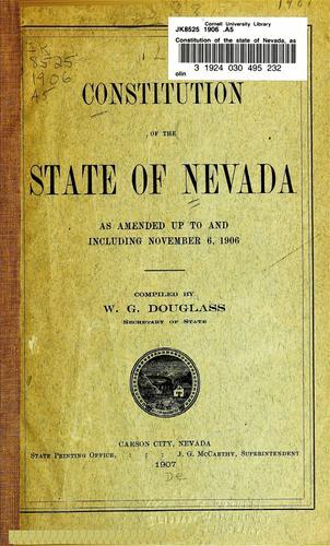 Nevada Constitution