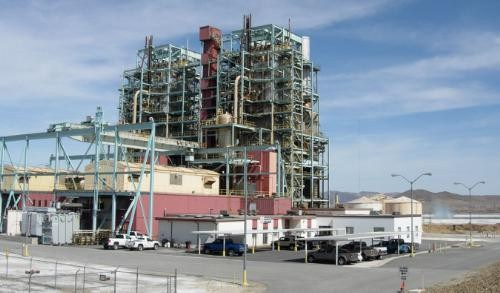 NV Energy gas-fired power plant.