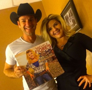Photo of the 2016 Walk the Talk Calendar with Craig Campbell.
