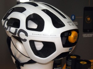An ICEdot crash-sensor helmet makes an alarm call to a mobile phone in cases of severe impact like accidents. (Courtesy: Wikimedia Commons)