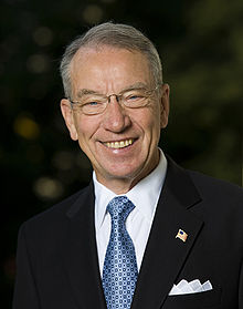 Chuck Grassley is a Republican senator from Iowa and serves as chairman of the Senate Judiciary Committee