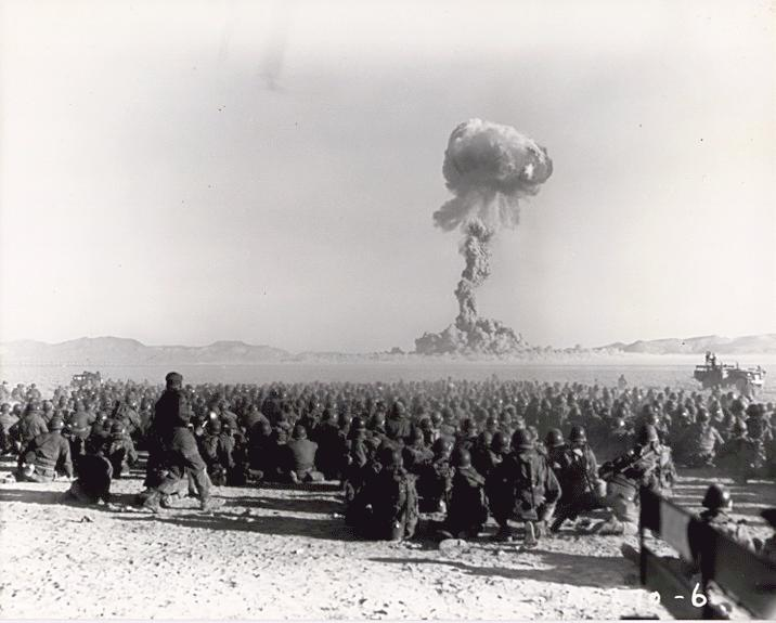 A number of nuclear tests have been made in America since history and this one's blasted way back in 1950's. (Courtesy: Wikimedia Commons)