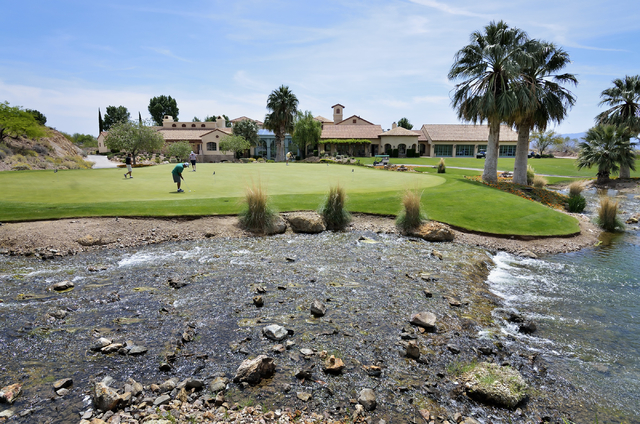 Cascata Golf Course is one of the most-played golf courses and a favorite stop of Las Vegans. (Courtesy: Las Vegas Review-Journal)