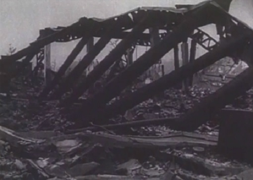 A snapshot of the aftermath of America's nuclear bombing in Hiroshima during the World War II. (Courtesy: Reuters)