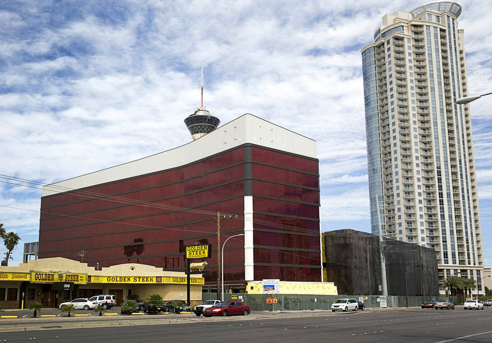 The Lucky Dragon Hotel and Casino at the west of Sahara Avenue. (Courtesy: Las Vegas Weekly)