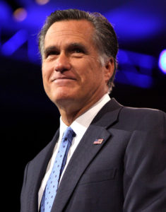 Williard Mitt Romney served as Governor in Massachusetts in 2003-2007 and was Republican Party's nominee for president in the 2012 elections. (Courtesy: Wikipedia)