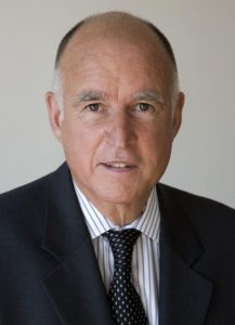 Gov. Jerry Brown is the current and 39th Governor of California, serving a term since January 2011. He was also the 34th Governor of the state with his term in 1975-1983, taking the spot of the longest-serving governor of California. (Courtesy: Wikipedia)