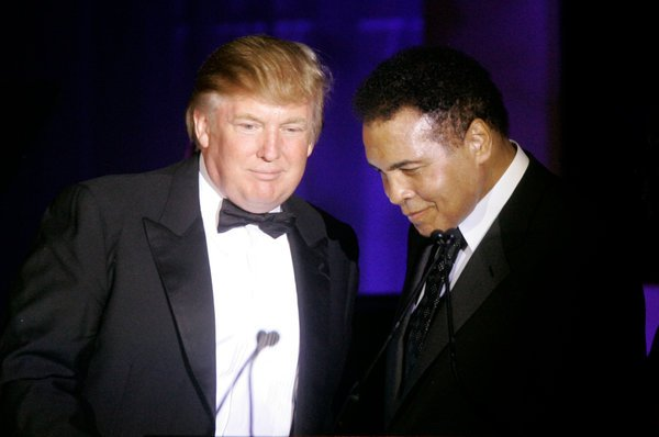 Donald Trump and Muhammad Ali had been great friends since Trump started liking boxing at Ali's famous fight with Joe Frazier in 1971. (Courtesy: Associated Press)