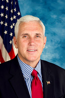 Gov. Mike Pence will meet again Republican presidential nominee Donald Trump in his state, but this time, allegations show, with the latter inviting the governor to be his VP partner. (Courtesy: Wikipedia)