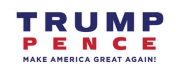 Trump Pence logo - New