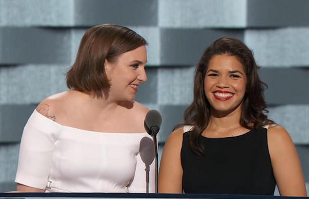 la-na-pol-watch-actresses-lena-dunham-america-ferrera-speak-democratic-national-convention-20160726-998x645