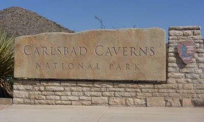 Carlsbad Caverns National Park in southern New Mexico