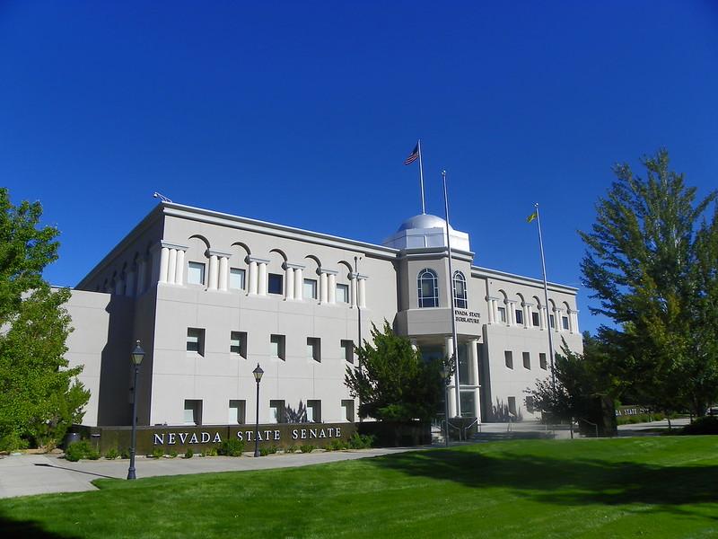 Nevada State Senate in Carson City,